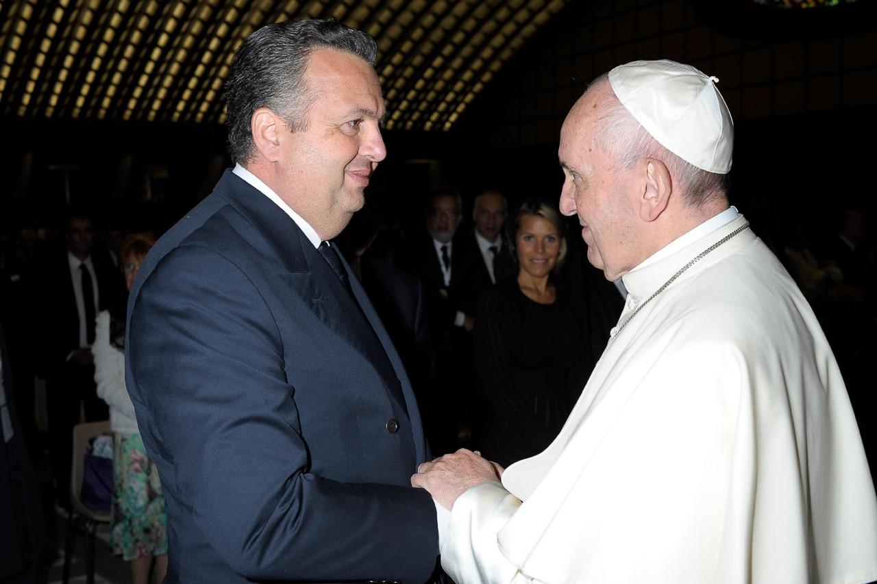 Audience Privée avec Papa Francesco