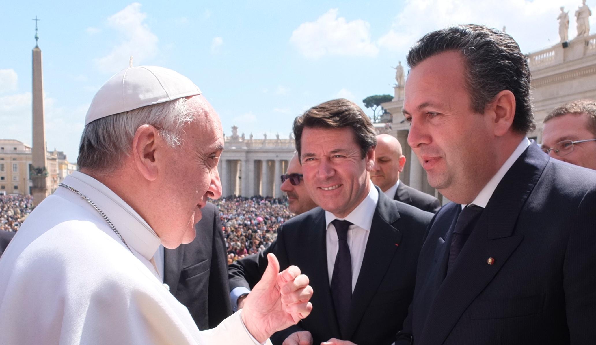 Rencontre avec Papa Francesco